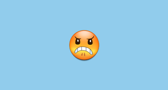 angry face emoji on samsung touchwiz nature ux 2