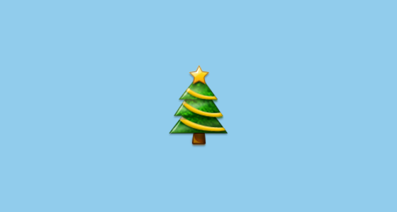 Christmas Tree Emoji On Samsung Touchwiz Nature Ux 2
