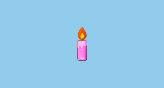 Candle Emoji On Samsung Touchwiz 60