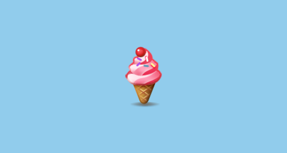 Soft Ice Cream Emoji On Samsung Touchwiz 60