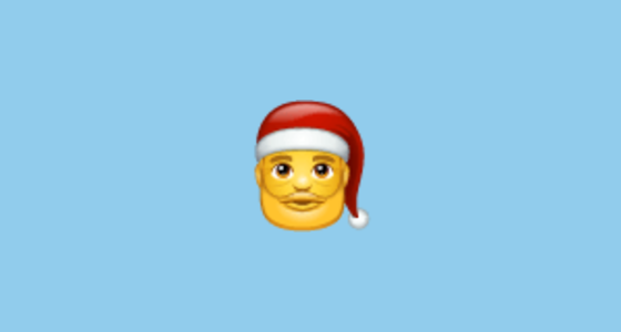 Santa Claus Emoji On Whatsapp 217