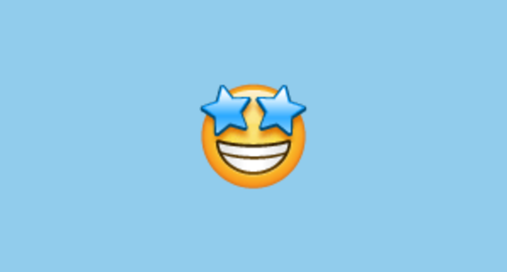 Star Struck Emoji On Whatsapp 217
