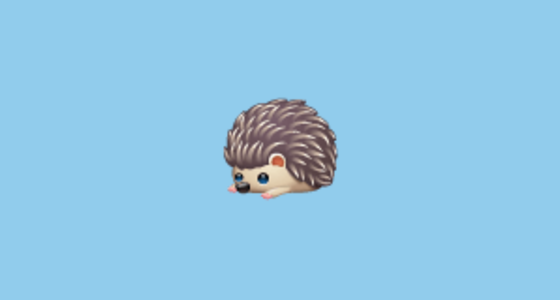 🦔 Hedgehog Emoji on WhatsApp 2 17