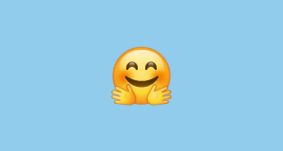 Hugging Face Emoji On Whatsapp 2 17