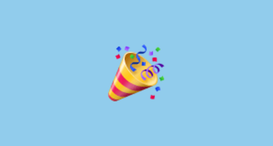 🎉 Party Popper Emoji on WhatsApp 2 17