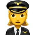 Woman Pilot on Apple iOS 11.3