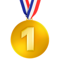 1st Place Medal on Apple iOS 11.3