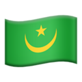 Mauritania on Apple iOS 11.3