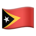 Timor-Leste on Apple iOS 11.3