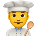Man Cook on Apple iOS 11.3