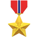 Military Medal on Apple iOS 11.3