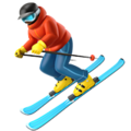 Skier on Apple iOS 11.3