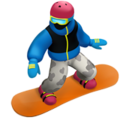 Snowboarder on Apple iOS 11.3