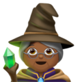 Woman Mage: Medium-Dark Skin Tone on Apple iOS 11.3