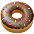 Doughnut on Apple iOS 12.1