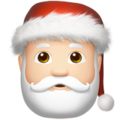Santa Claus: Light Skin Tone on Apple iOS 12.1