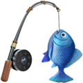 Fishing Pole on Apple iOS 12.1