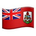 Flag: Bermuda on Apple iOS 12.1
