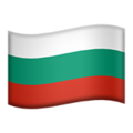 Flag: Bulgaria on Apple iOS 12.1