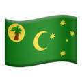 Flag: Cocos (Keeling) Islands on Apple iOS 12.1
