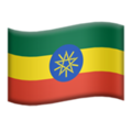 Flag: Ethiopia on Apple iOS 12.1