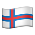 Flag: Faroe Islands on Apple iOS 12.1