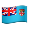 Flag: Fiji on Apple iOS 12.1