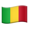 Flag: Mali on Apple iOS 12.1