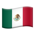 Flag: Mexico on Apple iOS 12.1