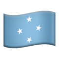 Flag: Micronesia on Apple iOS 12.1