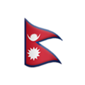 Flag: Nepal on Apple iOS 12.1