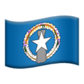 Flag: Northern Mariana Islands on Apple iOS 12.1