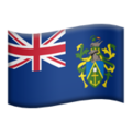 Flag: Pitcairn Islands on Apple iOS 12.1