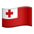 Flag: Tonga on Apple iOS 12.1
