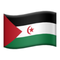 Flag: Western Sahara on Apple iOS 12.1