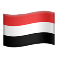 Flag: Yemen on Apple iOS 12.1