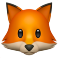 Fox Face on Apple iOS 12.1