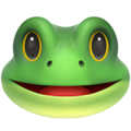 Frog Face on Apple iOS 12.1
