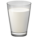 Glass of Milk on Apple iOS 12.1