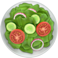 Green Salad on Apple iOS 12.1