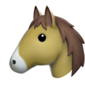 Horse Face on Apple iOS 12.1
