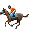 Horse Racing: Light Skin Tone on Apple iOS 12.1