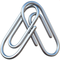 Linked Paperclips on Apple iOS 12.1