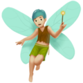 Man Fairy: Medium-Light Skin Tone on Apple iOS 12.1