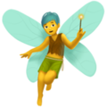 Man Fairy on Apple iOS 12.1