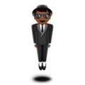 Man in Suit Levitating: Medium-Dark Skin Tone on Apple iOS 12.1