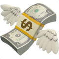 Money With Wings on Apple iOS 12.1