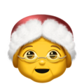 Mrs. Claus on Apple iOS 12.1