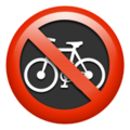 No Bicycles on Apple iOS 12.1