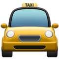 Oncoming Taxi on Apple iOS 12.1